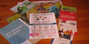 Programmheft und Flyer zu Inklusion