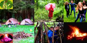Kinder in natürlicher Umgebung