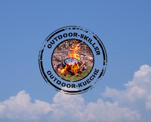 Stempelbild mit Feuertopf
