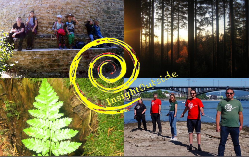 Insight Logo auf vier Bildern